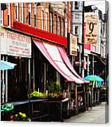 9th Street Italian Market Philadelphia Canvas Print