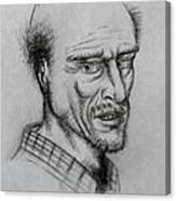 A Bald Guy Canvas Print