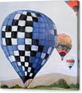 A Balloon Disaster Canvas Print