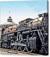 A Baltimore Chooch Canvas Print