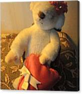 A Bear's Love Canvas Print