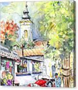 A Beautiful Car In Szentendre Canvas Print