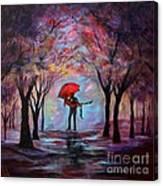 A Beautiful Romance Canvas Print