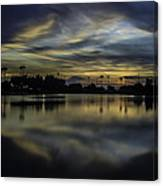 A Beautiful Sunset Over Phoenix Arizona. Canvas Print