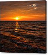 A Beautiful Windy Evening Canvas Print