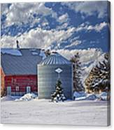 A Beautiful Winter Day Canvas Print