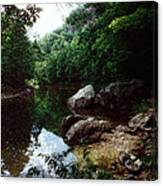 A Bend In The Baker Canvas Print