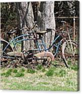 A Bicycle Built For Two Canvas Print