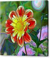 A Blooming Smile  Canvas Print