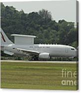 A Boeing E-7a Wedgetail Of The Royal Canvas Print