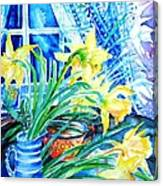 A Bouquet Of April Daffodils  Canvas Print