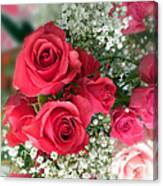 A Bouquet Of Roses For You Canvas Print