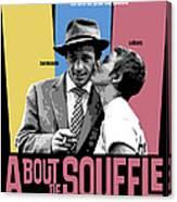 A Bout De Souffle Movie Poster Canvas Print