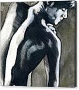 A Boy Named Shadow Canvas Print