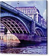 A Bridge In London Canvas Print