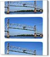A Bridge Opening Canvas Print