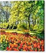 A Bright Day Canvas Print