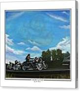 A Brother's Last Ride Canvas Print