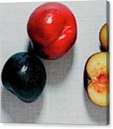 A Bunch Of Plums Canvas Print
