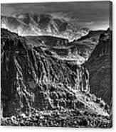 A Canyon Storm Canvas Print