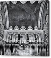 A Central View Bw Canvas Print