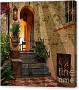 A Charleston Garden Canvas Print