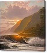 A Cherished Evening Canvas Print