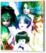 A Chorus Of Dolls - Toy Dreams 4 Canvas Print