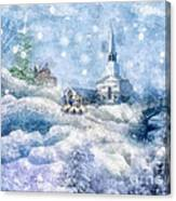 A Christmas To Remember Canvas Print