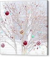 A Christmas Tree Canvas Print
