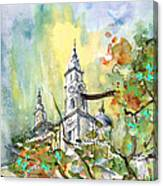 A Church In Budapest 02 Canvas Print