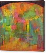 A City Gate Canvas Print