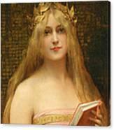 A Classical Beauty Canvas Print
