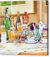 A Collection Of Drinks Canvas Print