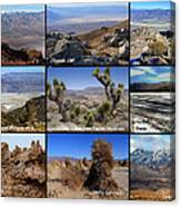 A Collection Of Views Canvas Print