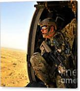 A Combat Rescue Officer Conducts Canvas Print