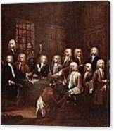 A Committee Of The House Of Commons Canvas Print