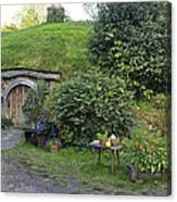 A Cosy Hobbit Home In The Shire Canvas Print