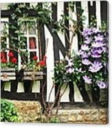 A Cottage In Normandy Canvas Print