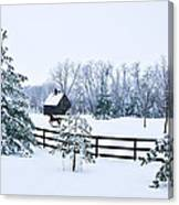 A Country Winter Canvas Print