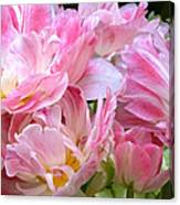 A Crowd Of Tulips Canvas Print