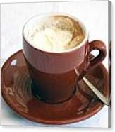 A Cup Of Caffe Canvas Print