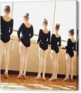A Dance Class Canvas Print