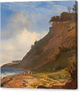 A Danish Coast Canvas Print