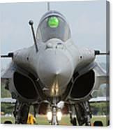 A Dassault Rafale Fighter Aircraft Canvas Print