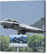 A Dassault Rafale Of The French Air Canvas Print