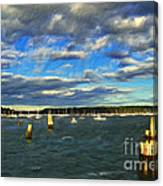 A Day At Oyster Bay Canvas Print