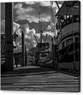 A Day At The Dock Canvas Print