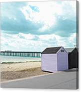A Day By The Beach Canvas Print