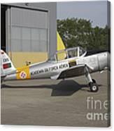A Dhc-1 Chipmunk Trainer Aircraft Canvas Print